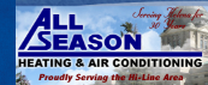 HVAC Service Company All Season Heating & Air Conditioning  LLC in Helena MT
