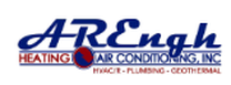 A R Engh Heating Air Conditioning Geothermal drain cleaning and plumbing