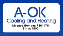 A-OK Cooling & Heating Corporation.